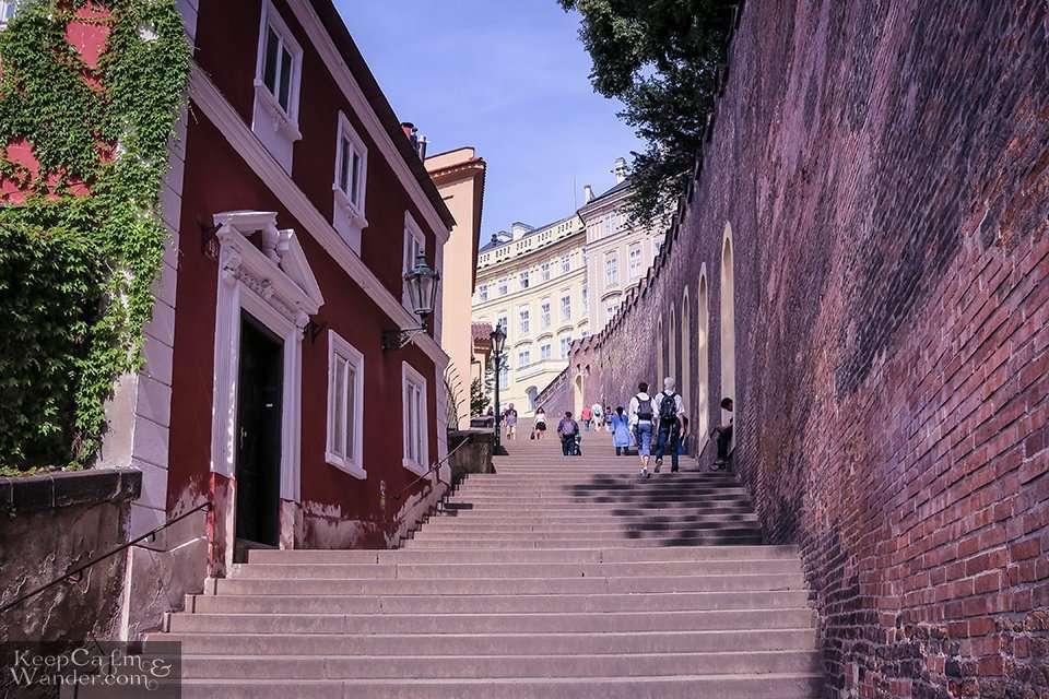 Climbing Prague Castle Travel Blog