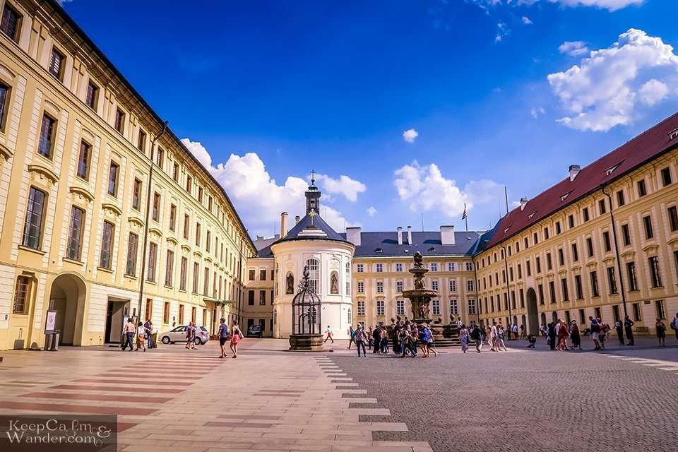 Praha Prazsky hrad