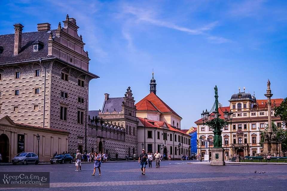 Prazsky Hrad Czech Republic
