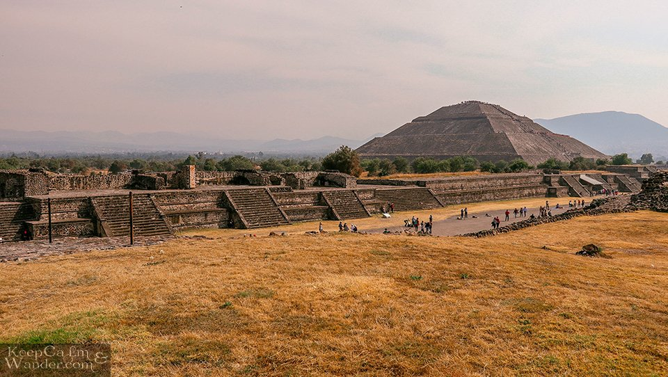Mexico City to Teotihuacan Pyramids Directions