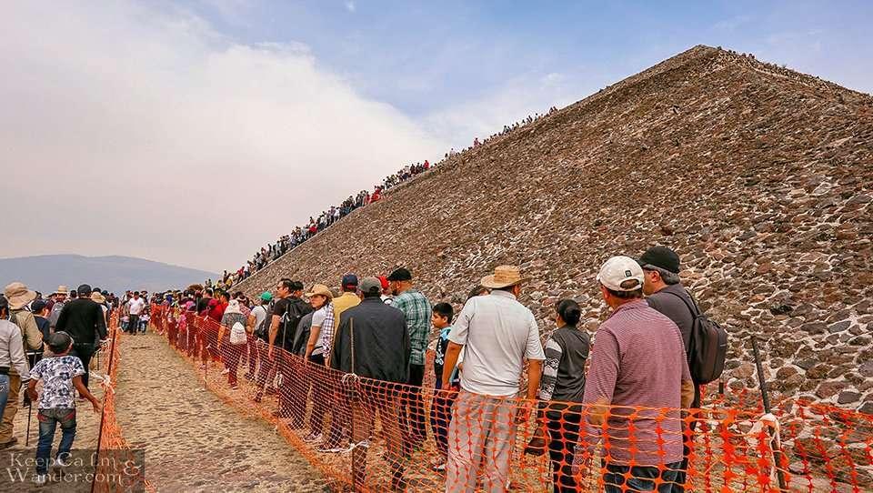 Climb Teotihuacan Pyramids Mexico