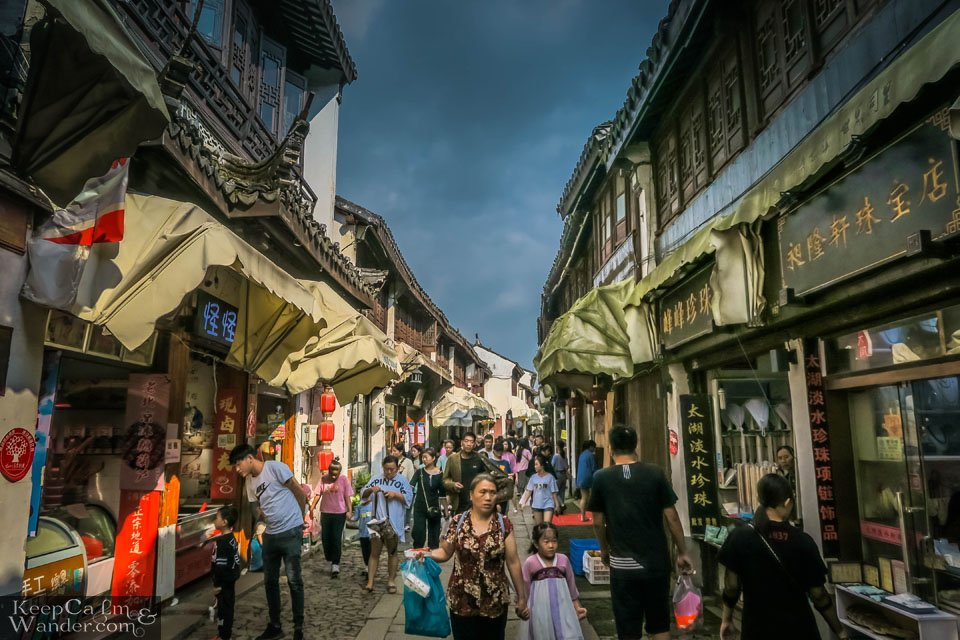 Tongli Water Town is a Classic Chinese Village from the Song Dynasty