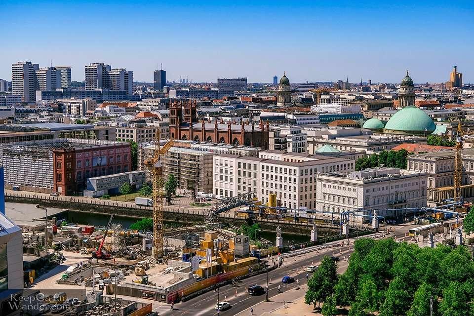 Berlin Skyline Panoramic Views