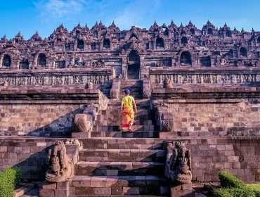 Borobudur Yogyakarta Indonesia Sunrise 5
