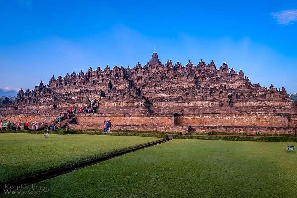 How to get to Borobudur Yogyakarta Indonesia
