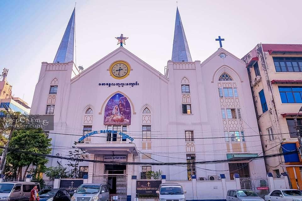 Baptist church Yangon Myanmar