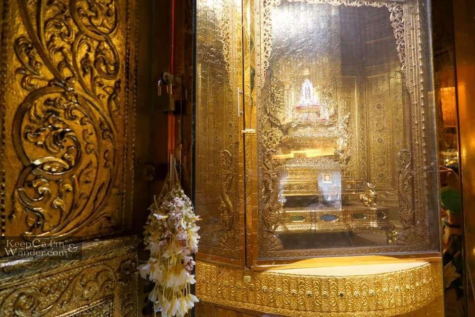 At Botataung Pagoda, You Will Find Buddha's Hair (Yangon, Myanmar).