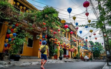 Hoi An Houses Morning Vietnam 1