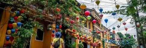 Hoi An Houses Morning Vietnam 1