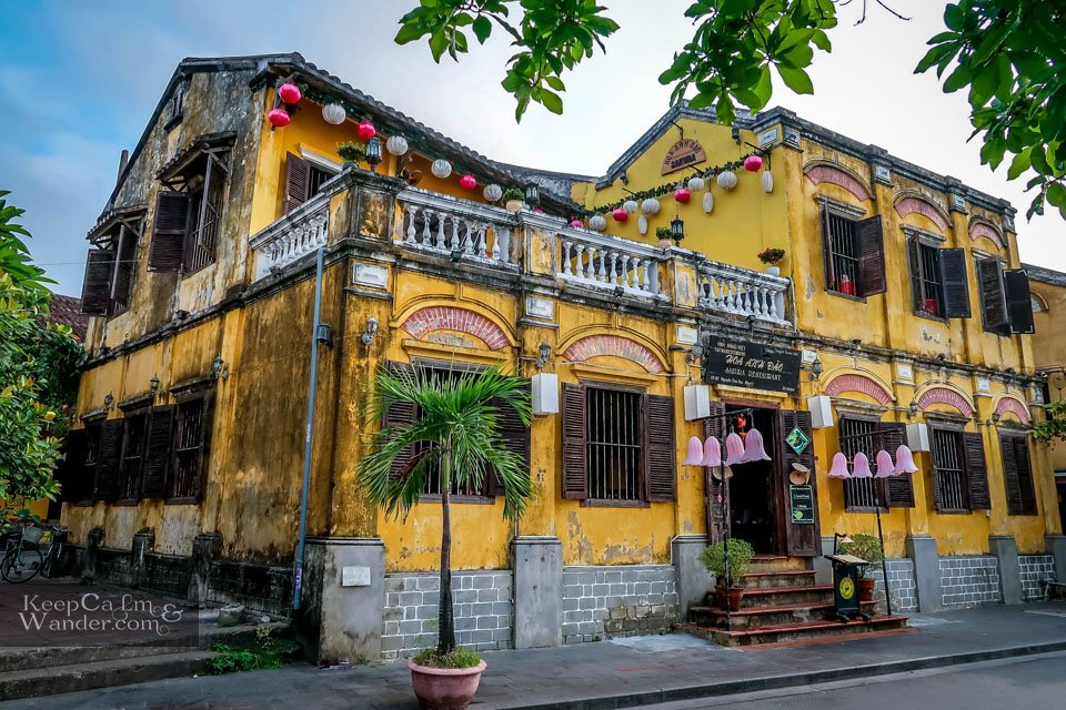 Houses Architecture in Vietnam HoiAn