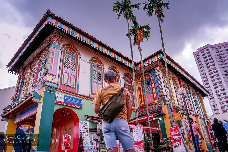 House of Tan Teng Niah in Little India in Singapore.