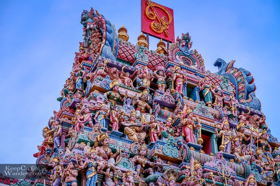 Sri Veeramakaliamman Temple The Colors of Little India in Singapore