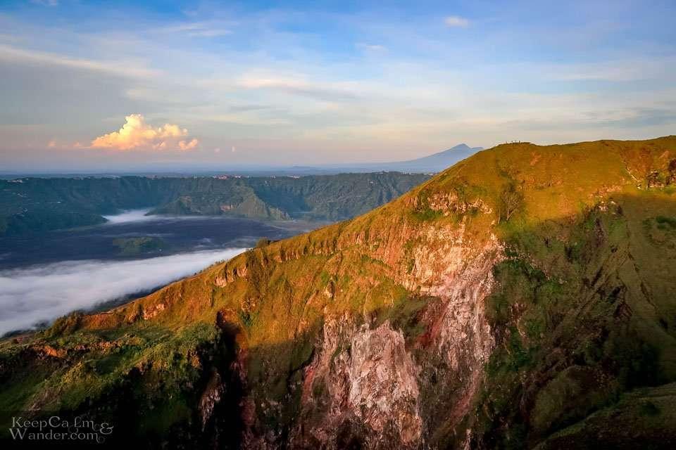 Gunung Batur volcano caldera Bali