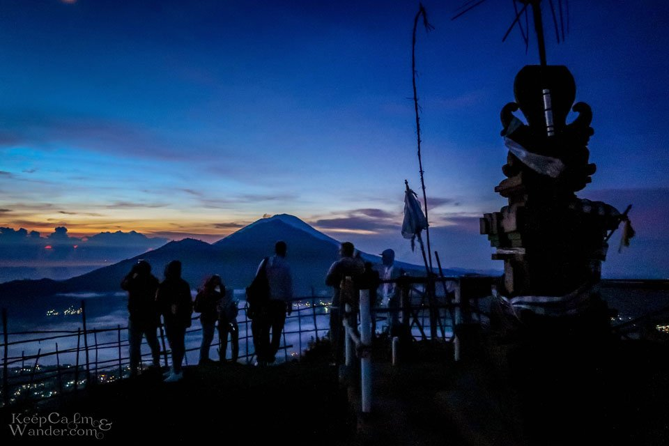 Before sunrise Gunung Bator