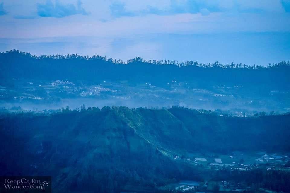Views from Gunung Batur Bali