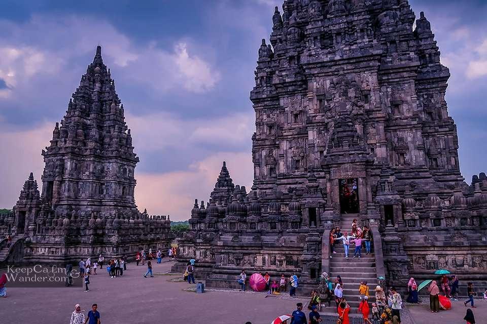 Prambanan Temple in Yogyakarta Indonesia.
