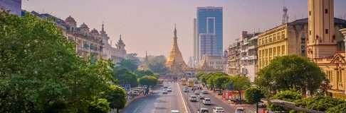 Sule Pagoda Paya – Yangon Myanmar 3