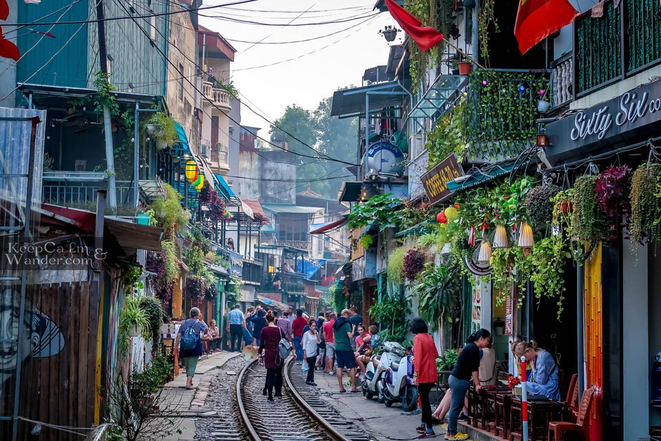 Train Street in Hanoi is Back on Business