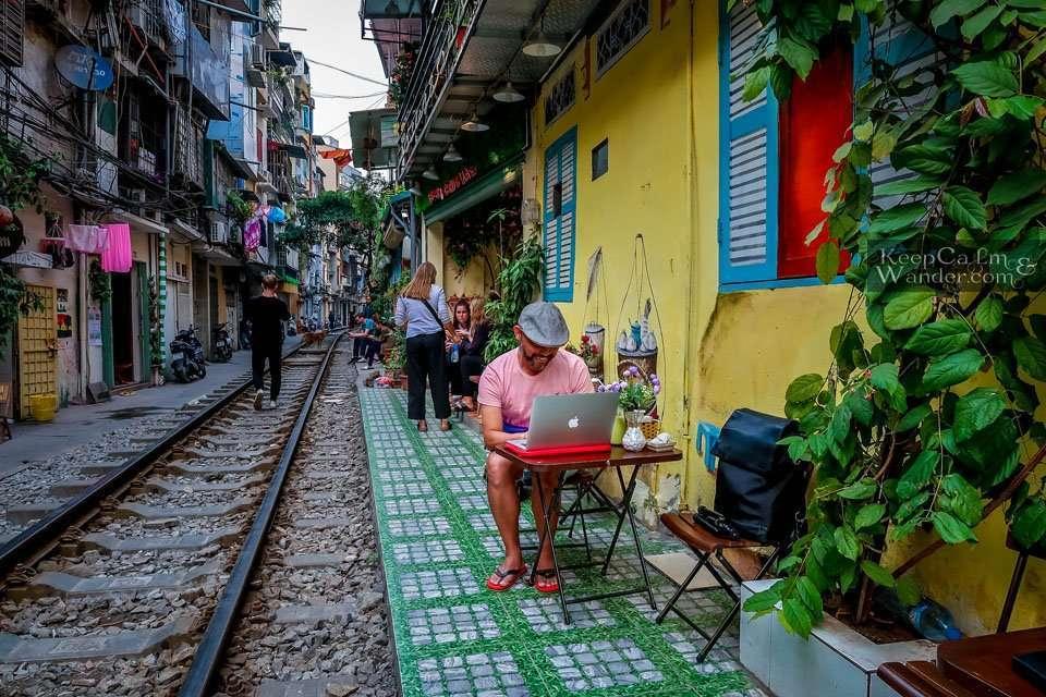 Hanoi Train Street Train Schedule (Vietnam).