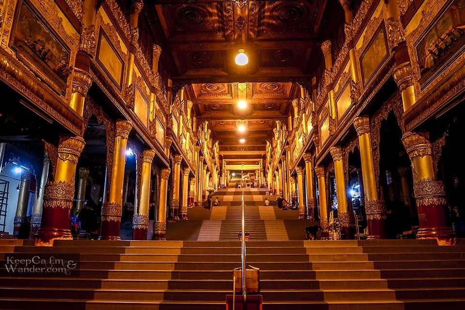Golden pagoda Rangon Burma