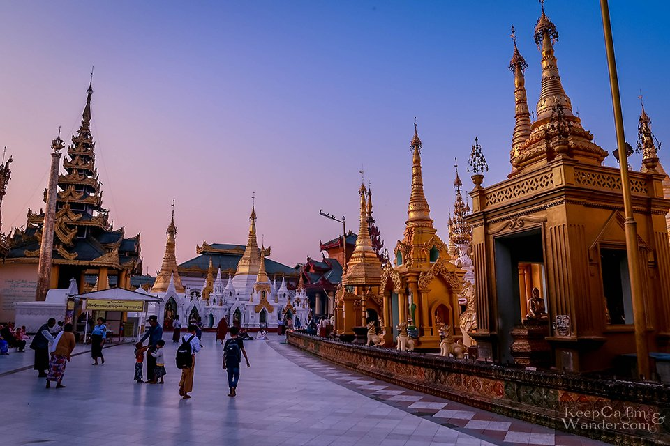 Golden Pagon Rangon Burma