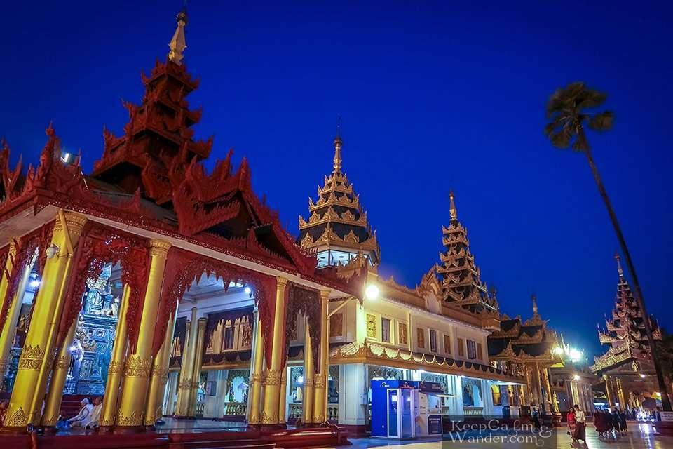 The Crown of Myanmar Yangon