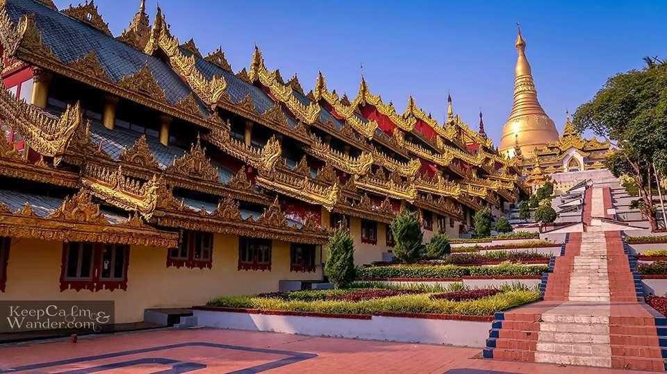 Golden Pagoda Myanmar Yangon