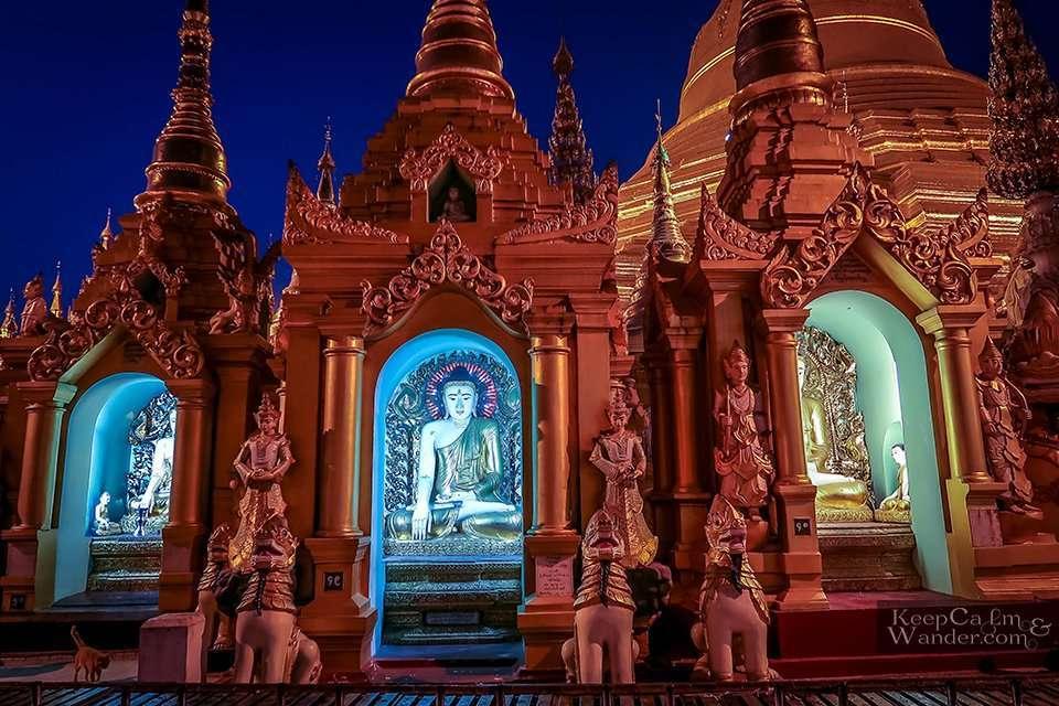 Buddhist Temple pagoda Myanmar