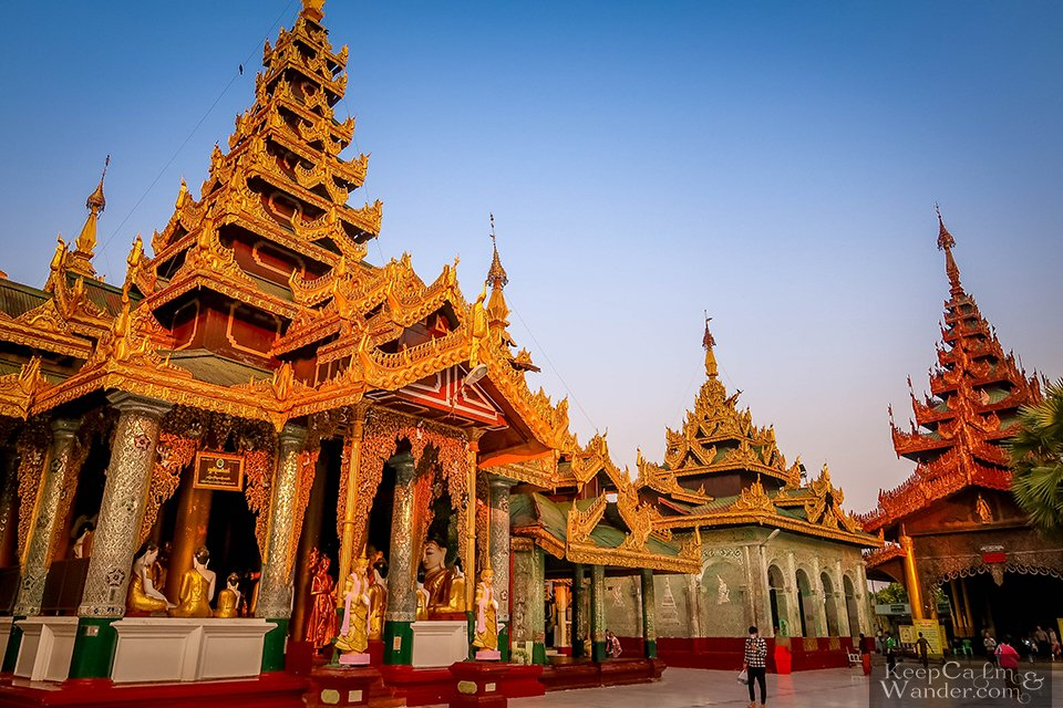Rangon Burma Temple