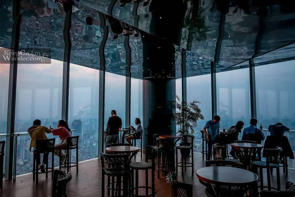 Hanoi Skyline from Lotte Tower Vietnam
