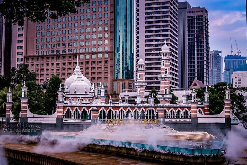 Masjid Jamek Mosque Kuala Lumpur, Malaysia