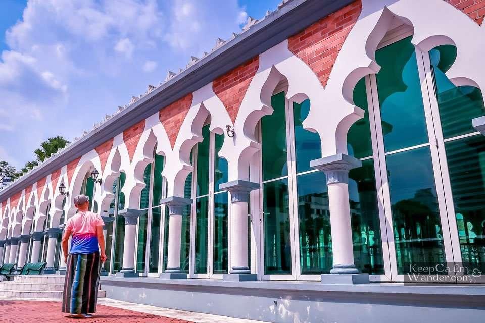 Sarong in a mosques Malaysia Kuala Lumpur
