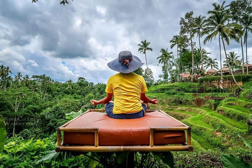 Ubud Swing Aloha Bali Indonesia