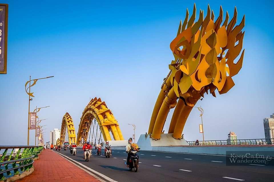 Han River bridge Vietnam things to do