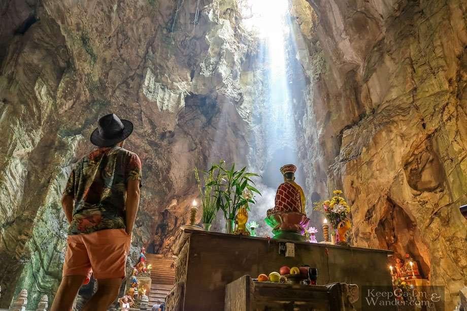 Inside Huyen Khong Cave Danang Things to do