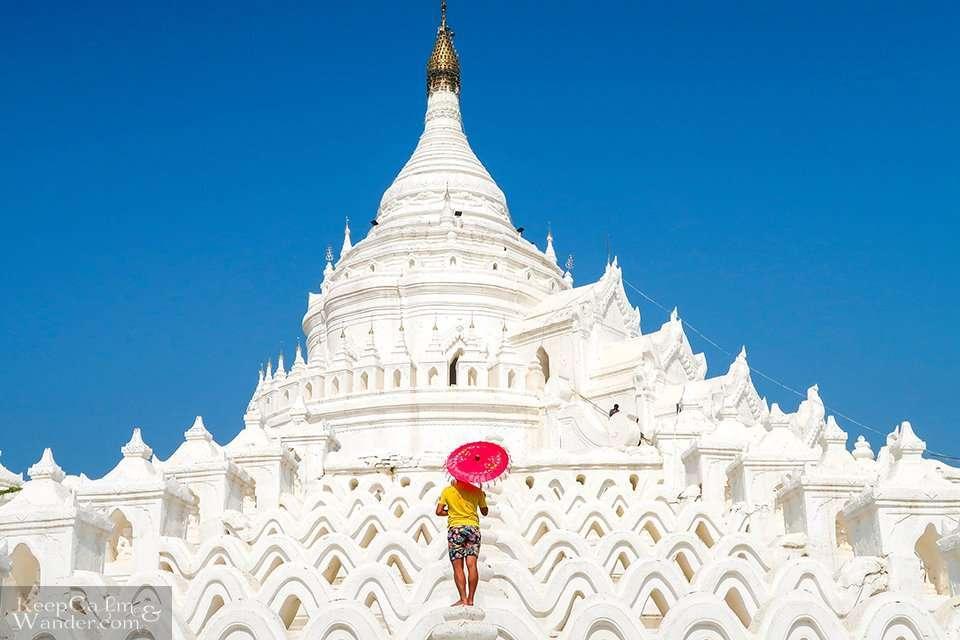Mya Thein Dan Pagoda, Mingun County, Mandalay, Myanmar