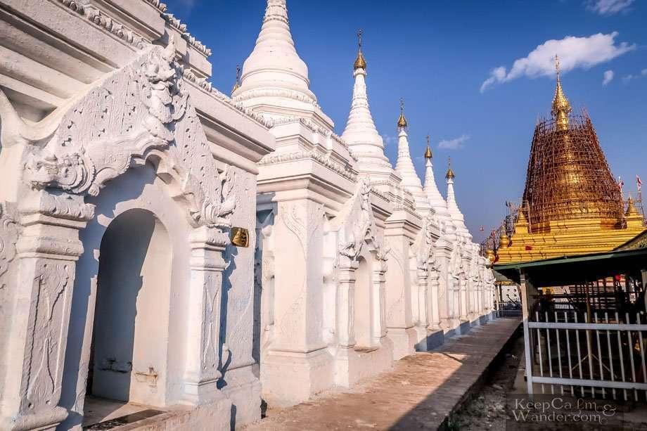 Sands muni Temple Mandalay Myanmar