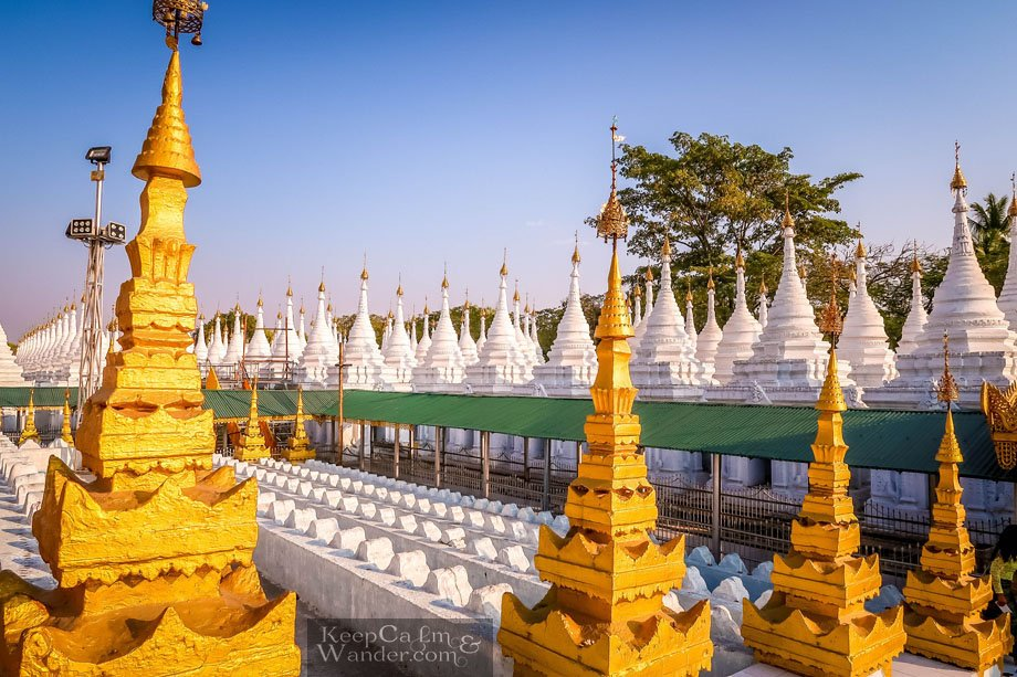Tourist attractions in Myanmar Mandalay