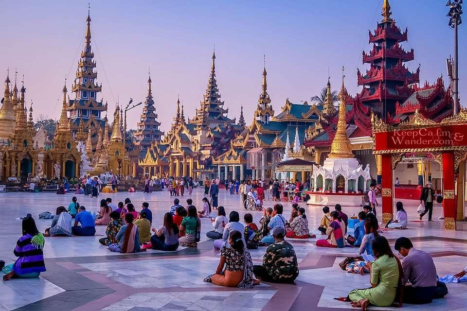 Golden Pagoda Things to do in Yangon, Myanmar Shwedagon Pagoda in the Morning