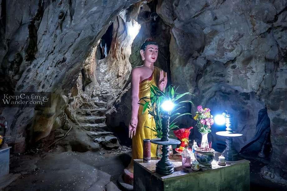 Van Thong Cave Exploring the Caves at the Marble Mountains in Da Nang