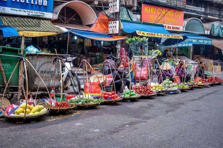 Dong Xuan Market Vietnam