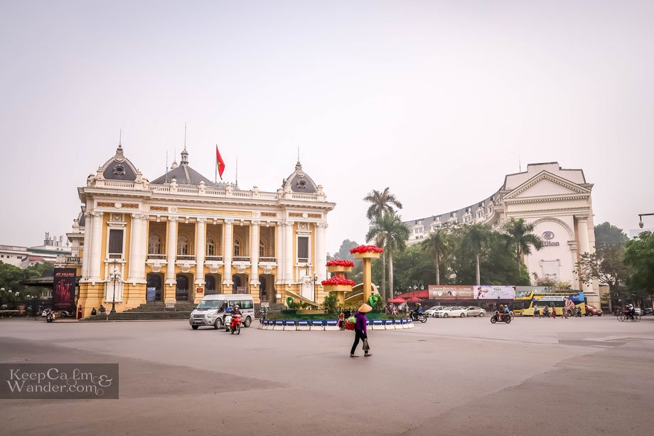 Hanoi Opera House - Tourist Attractions Vietnam
