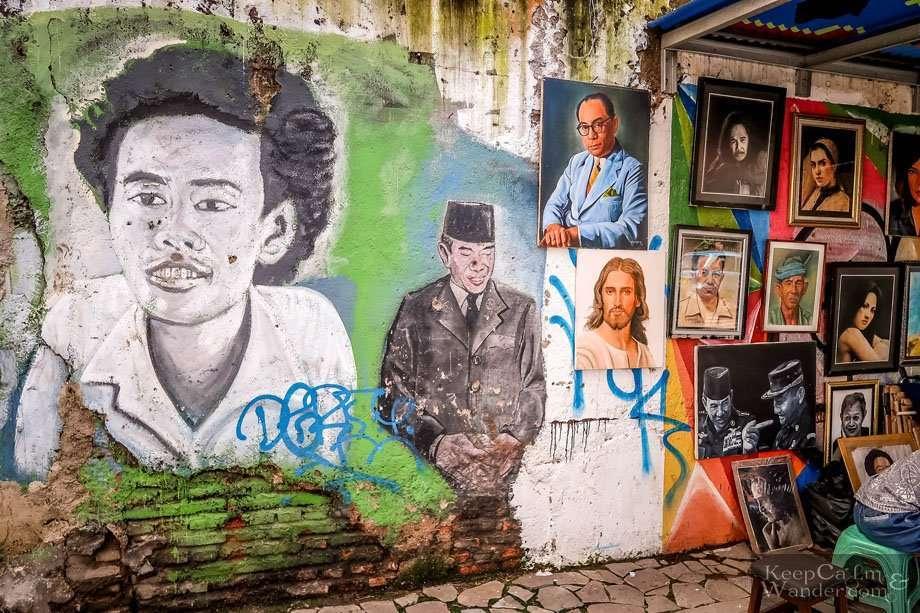 Murals in Jakarta Indonesia