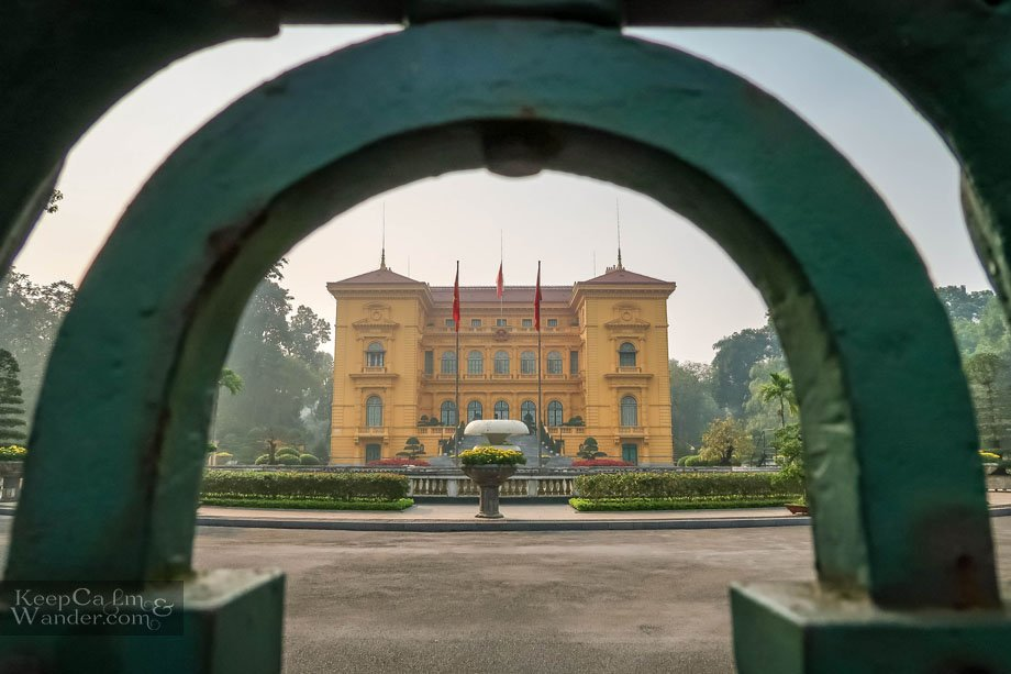 Things to do and see Presidential Palace Hanoi Vietnam