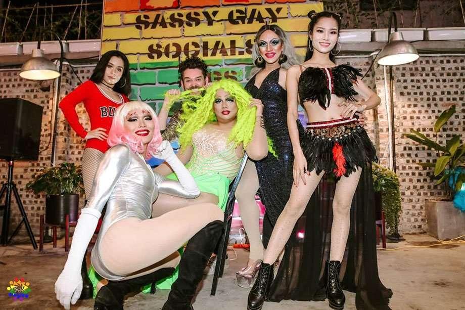 Sassy gay Socials Hanoi LGBT Gay Drag Show