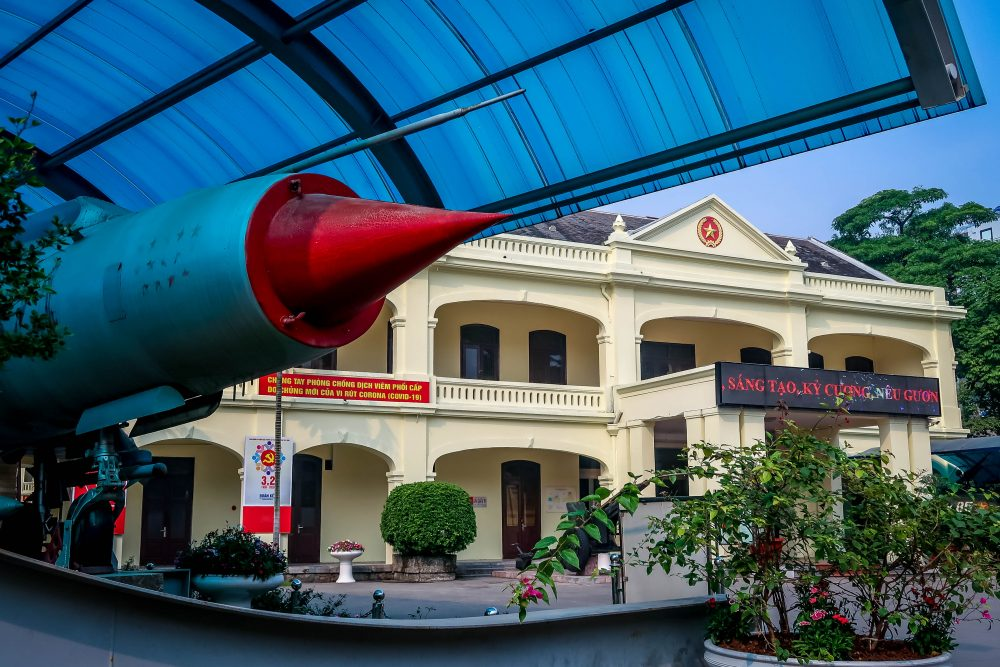 War Museum Hanoi Vietnam