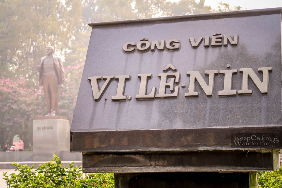 Lenin Park Hanoi Vietnam Tourist Attractions
