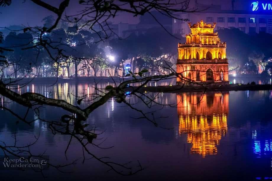 Hoan Kiem Lake Turtle Hanoi Vietnam