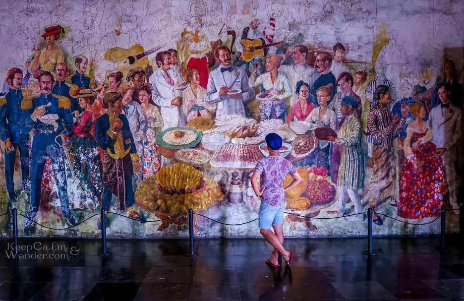 Museum Sejarah Fatahillah Mural Old Town Jakarta