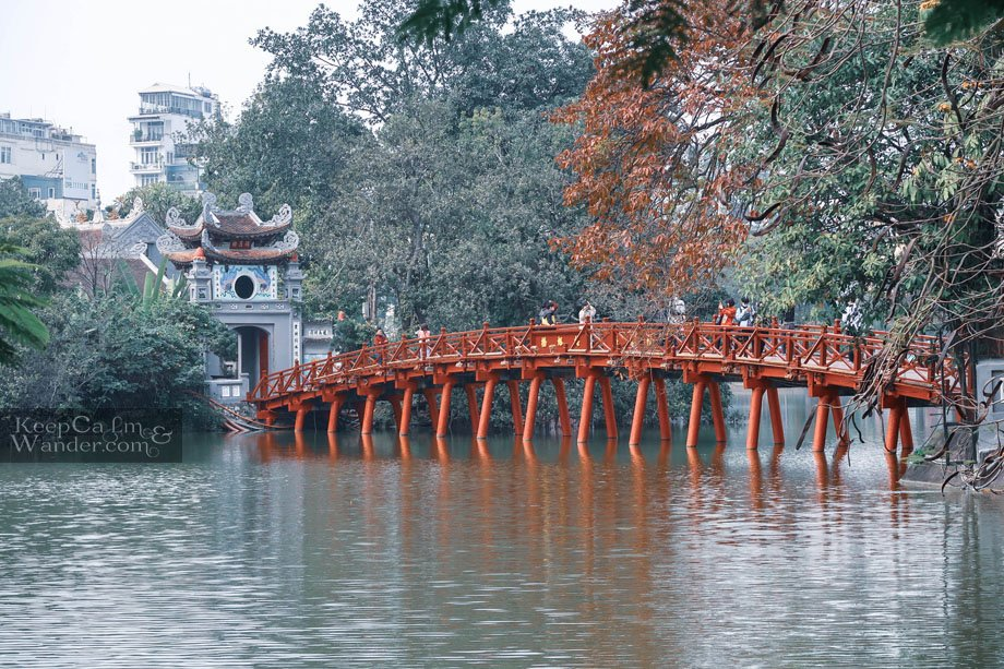 Ngoc Son Temple Tourist attractions Vietnam